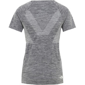 The North Face Impendor Seamless T-shirt Dames, tnf black white heather/tnf white